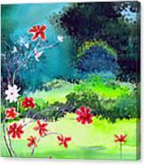 Garden Magic Canvas Print