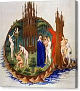 Garden Of Eden: Adam & Eve Canvas Print
