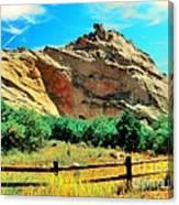 Garden Of The God's-colorado Canvas Print