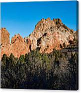 Garden Of The Gods Formation Canvas Print
