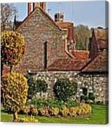 Garden Of Winchester Canvas Print