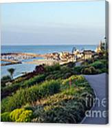 Garden Overview - Lyme Regis Canvas Print