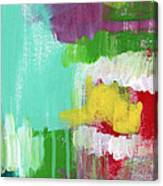 Garden Path- Abstract Expressionist Art Canvas Print