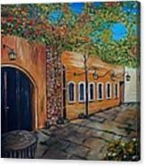 Garden Patio Canvas Print