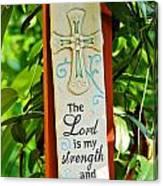 Garden Prayer Canvas Print