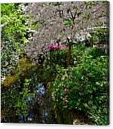 Garden Sanctuary Canvas Print