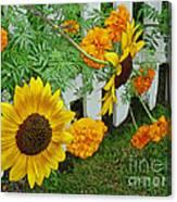 Garden Show-offs Canvas Print