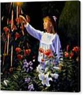 Garden Sparks Canvas Print