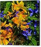 Garden Splash Canvas Print