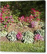 Garden Splender Canvas Print