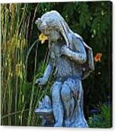 Garden Statuary Canvas Print