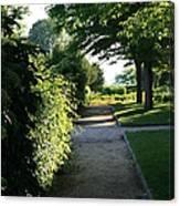 Garden Stroll Canvas Print