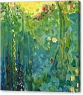 Garden Sunrise Canvas Print