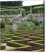 Garden Symmetry Chateau Villandry  Canvas Print