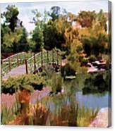 Japanese Gardens - Garden View Series 05 Canvas Print