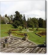 Garden View - Powerscourt Garden Canvas Print