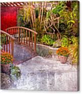 Garden View Series 25 Canvas Print