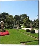 Garden Villa Ephrussi Canvas Print