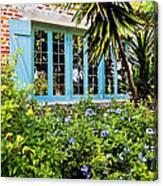 Garden Window Db Canvas Print