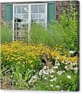 Gardens At The Good Earth Market Canvas Print