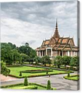 Gardens At The Royal Palace In Phnom Canvas Print