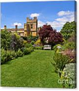 Gardens Of Sudeley Castle In The Cotswolds Canvas Print
