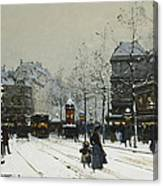 Gare Du Nord Paris Canvas Print