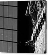 Gargoyle And Glass Canvas Print