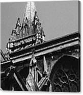 Gargoyles King's College Chapel Tower Canvas Print