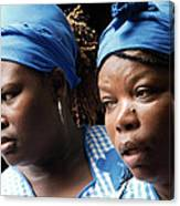 Garifuna Ladies Canvas Print