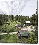 Garnet Ghost Town - Montana Canvas Print