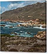 Garrapata Coast Canvas Print