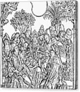 Gart Der Gesuntheit, 1485 Canvas Print