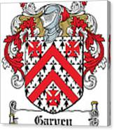 Garvey Coat Of Arms Down Ireland Canvas Print