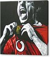 Gary Neville - Manchester United Fc Canvas Print