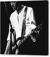 Gary Pihl On Guitar Canvas Print