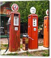Gas Museum Embudo New Mexico Canvas Print