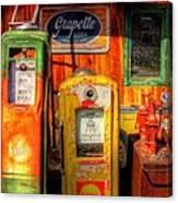Gas Pumps 2392 Canvas Print