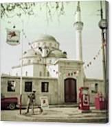 Gas Station In Turkey Canvas Print