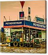 Gas Station Vietnam Style Canvas Print