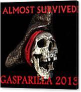 Gasparilla 2013 Postertshirt Work B Canvas Print