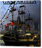 Gasparilla Ship Print Work C Canvas Print