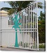 Gate 1 Canvas Print