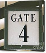 Gate #4 Canvas Print