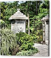 Gate Entrance Canvas Print