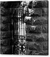 Gate To Grave  Canvas Print