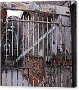 Gate To The Infirmary Canvas Print
