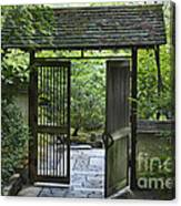 Gates Of Tranquility Canvas Print
