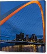 Gateshead At Night Canvas Print