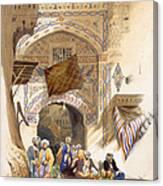 Gateway Of A Bazaar, Grand Cairo, Pub Canvas Print